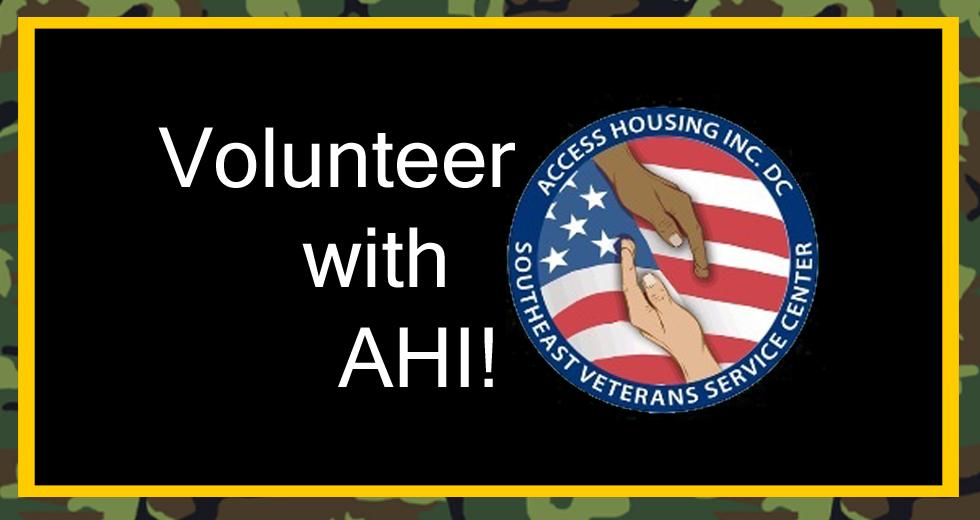 Volunteer New site header