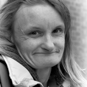White woman smiling headshot